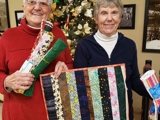 Quilters Support Seniors
