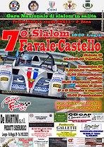 Locandina 7° Slalom Favale-Castello 2014