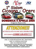 LOCANDINA 1 Slalom Cicagna Orero 2009.jp