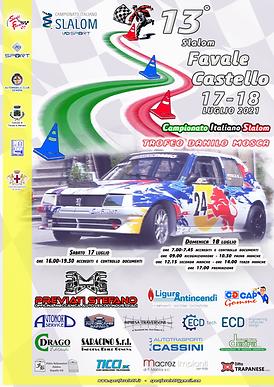 Locandina 13^ Slalom Favale - Castello 2021 DEFINITIVA.png