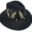 Thumbnail: Black Feathers hat