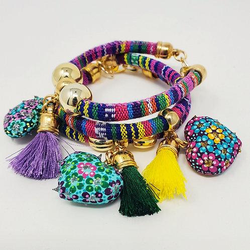 Oaxacan bracelets