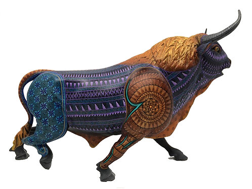Colorful Elegant Bull