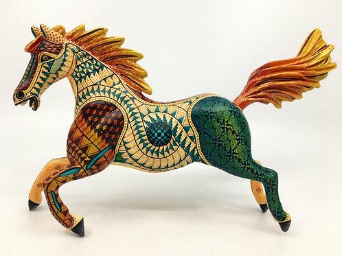 Yellow Horse Alebrije