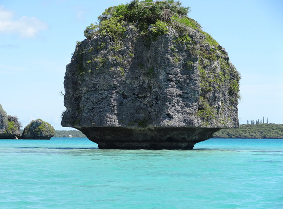 New Caledonian Rock Ocean