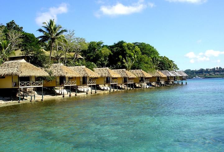Relax by Vanuatu's Seaside