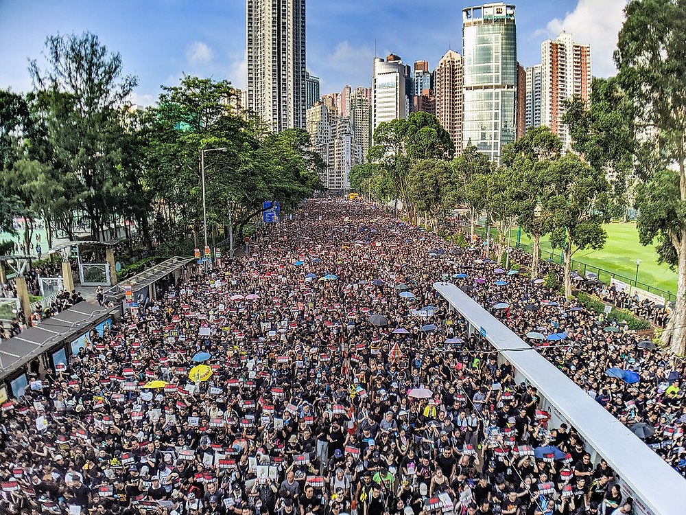 Anti-Extradition Bill Protest in Hong Kong