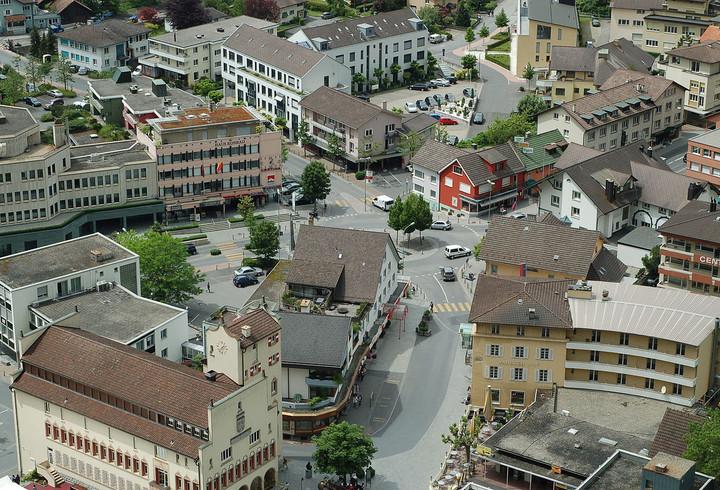 Vaduz, Capital of Liechtenstein