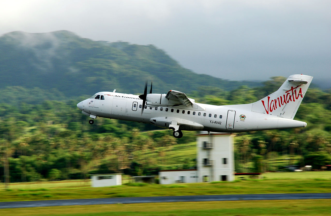 Fly Around Islands of Vanuatu