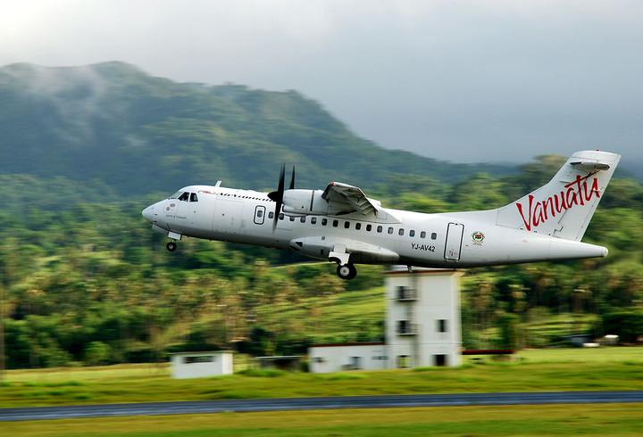 Fly Around Islands of Vanuatu
