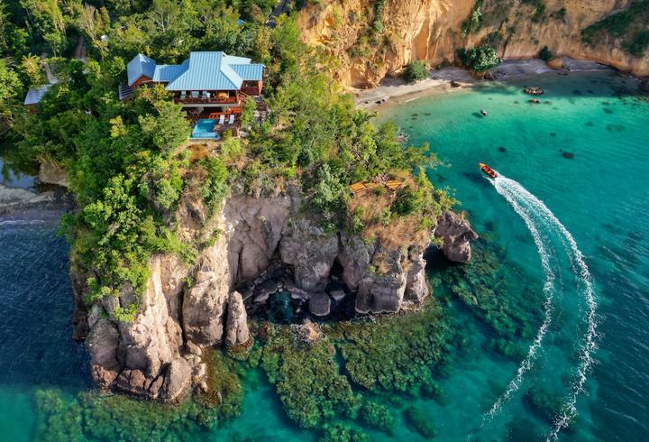 The Secret Bay, Dominica