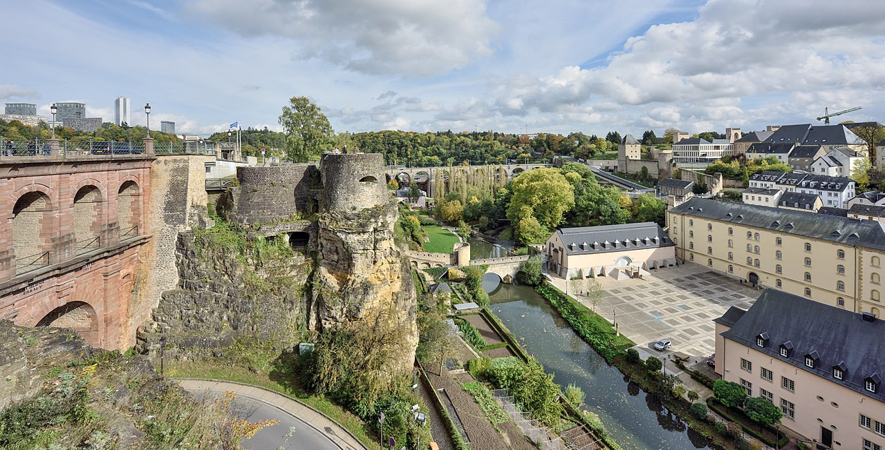 Luxembourg City During the Day