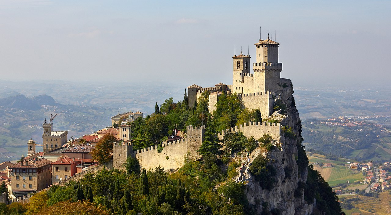 San Marino Fortress of Guaita