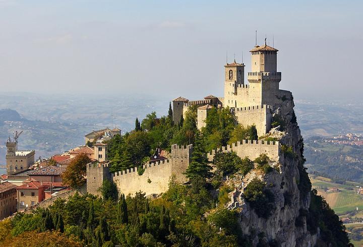 San Marino Fortress of Guaita