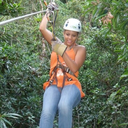 #throwback #tuesday #zip- #lining  in #Fiji #rainforest #itravel #itravel2getaway