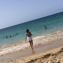 #beach #happybirthdayamerica #fourthofjuly #puertorico #sanjuan #happy #chillin