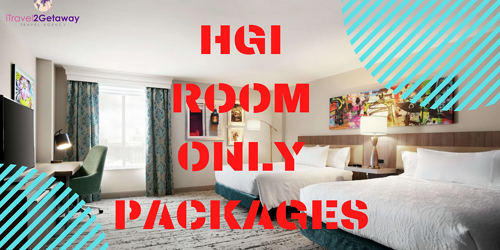 2021 Essence Festival HGI *ROOM ONLY* Packages