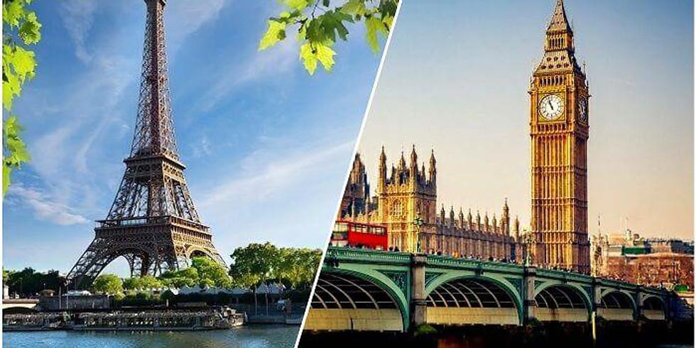 BLACK FRIDAY SALE: 2021 London & Paris Group Trip