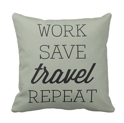 iTravel2Getaway Throw Pillow