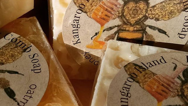 Kangaroo Island Honey Comb Soap