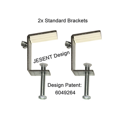 2 x SMALL Window box Brackets ONLY FREE UK P&P