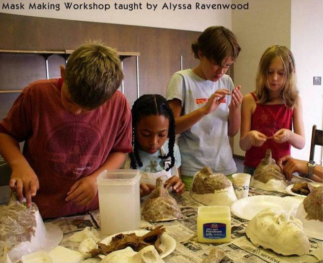 Children's Mask Making Workshop