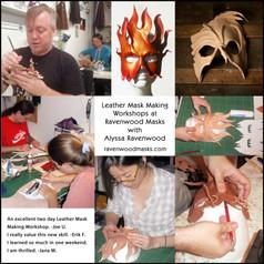 Leather Mask Making Workshops