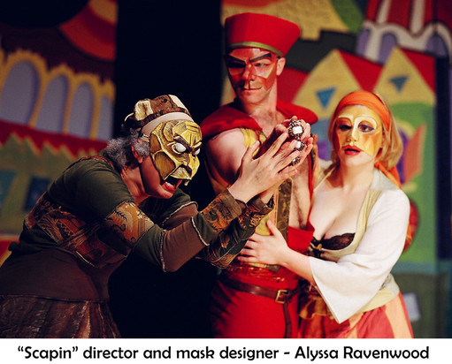 Scapin! Commedia Mask Performance