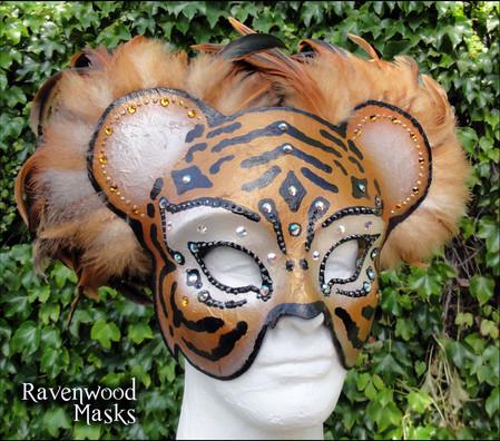 Tiger Masquerade Mask