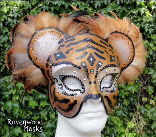 Tiger Masquerade Mask