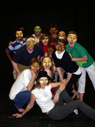 Commedia/Mask Performance Workshop