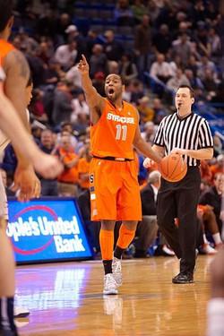 Scoop Jardine- Syracuse University