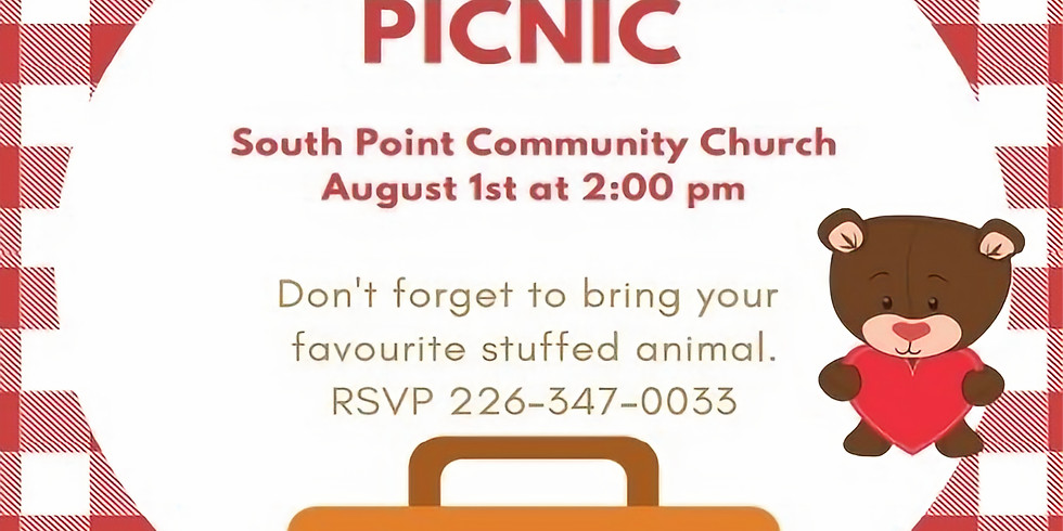 Teddy Bear Picnic was rescheduled due to the Weather