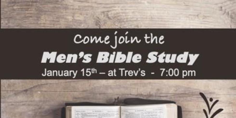 Men's Bible Study - CANCELLED