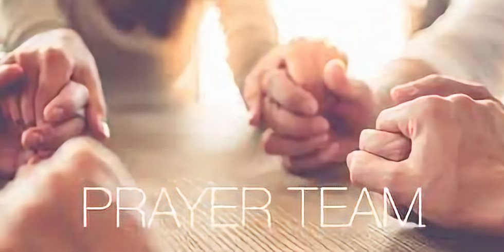 Prayer Team Meeting at Ruby's
