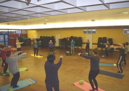 La Méthode Pilates proposée par l'association GFI est un succès !