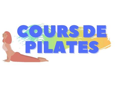 Cours de Pilates 2020-2021