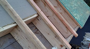 Resiential roof build-up