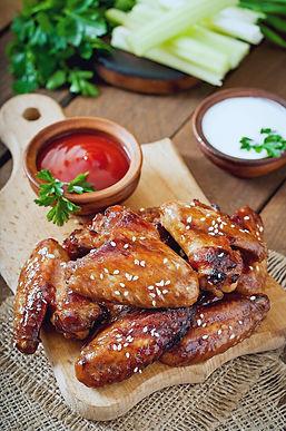 BBQ Chicken Wings München
