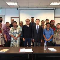 Highlights of November: Taiwan Circular Economy Network's exchange with Pacific Island countries, Ja