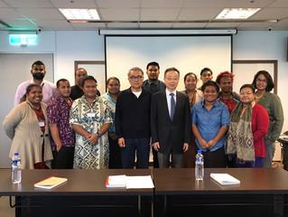 11月基金會與太平洋島國、日本、紐西蘭交流集錦