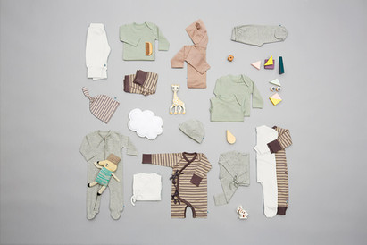 要一直可愛下去的時尚嬰兒服!