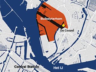 荷蘭阿姆斯特丹北區的Buiksloterham