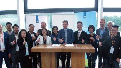 TCEN signed MOU with Holland Circular Hotspot