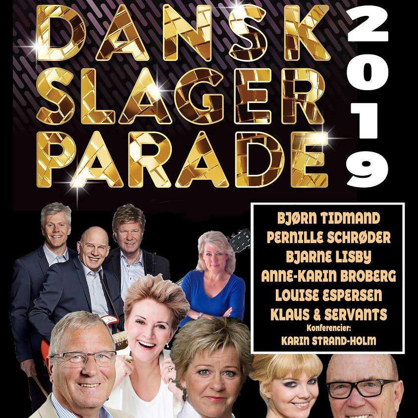 DANSK SLAGER PARADE 2019 - kl. 12.00 og kl. 18.00