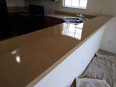 COUNTER TOP REFINISHING AFTER