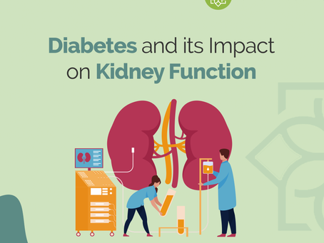 How Uncontrolled Diabetes Can Impact Our Kidneys