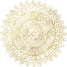 Labyrinth Mandala Celtic Gold Foil (1).p
