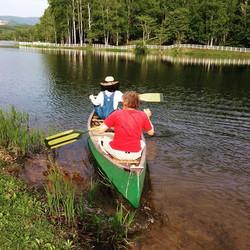 canoe with daniel