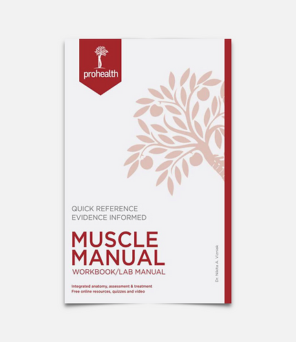 Muscle Manual Workbook/Lab Manual